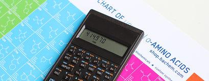 Peptide Calculator